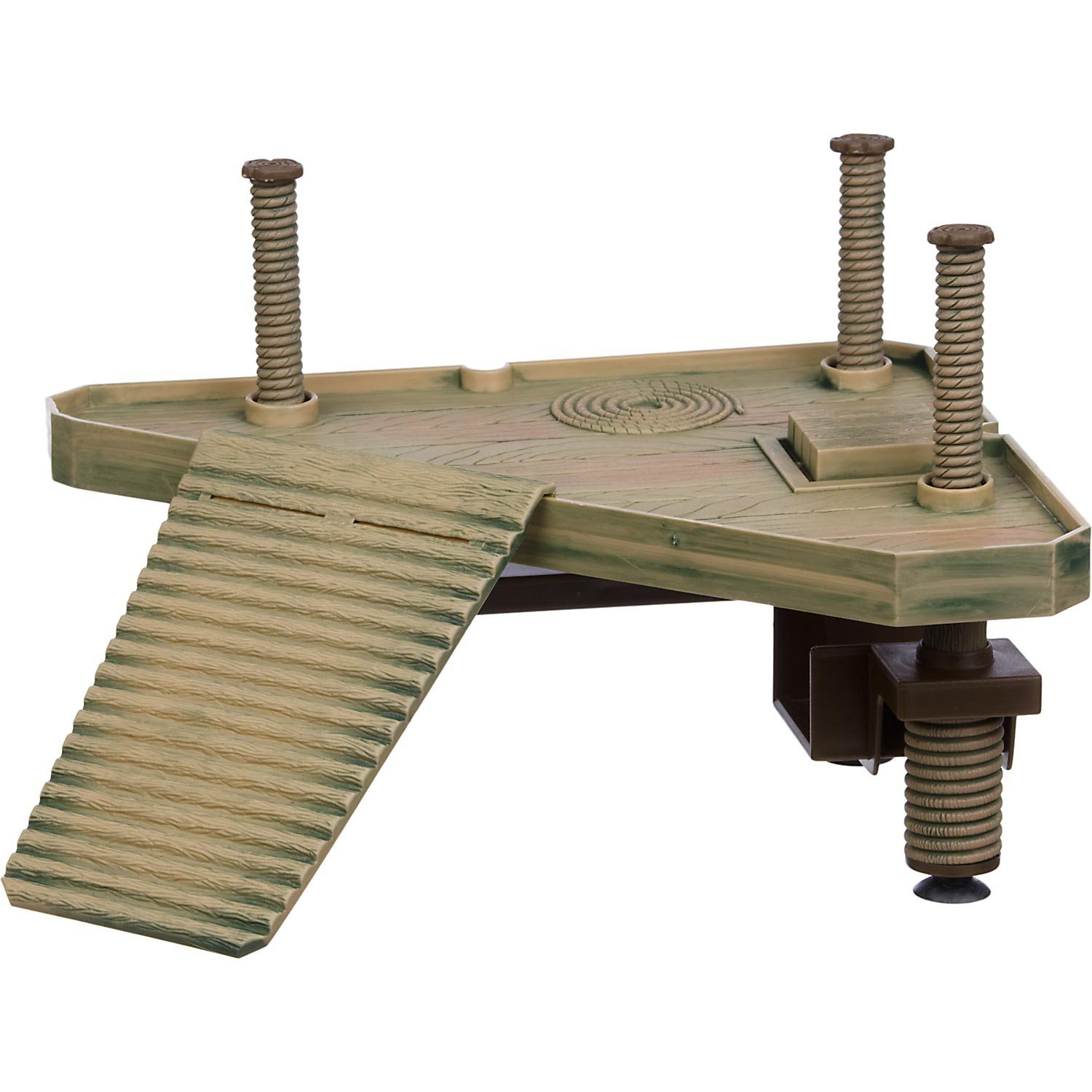 Amazon.com : Penn Plax Small Turtle Pier For Use In and Out Of Water ...