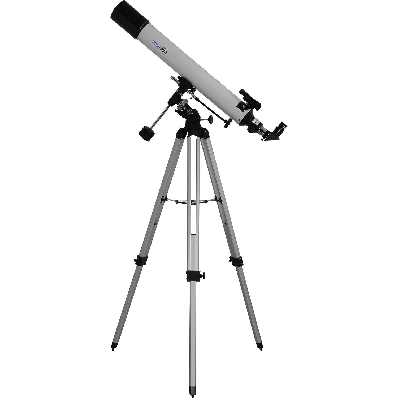 Telescopio Zoom Apollo 80 EQ, telescopio per l'astronomia con Apertura 80 mm e Lunghezza focale 900 mm Zoomion