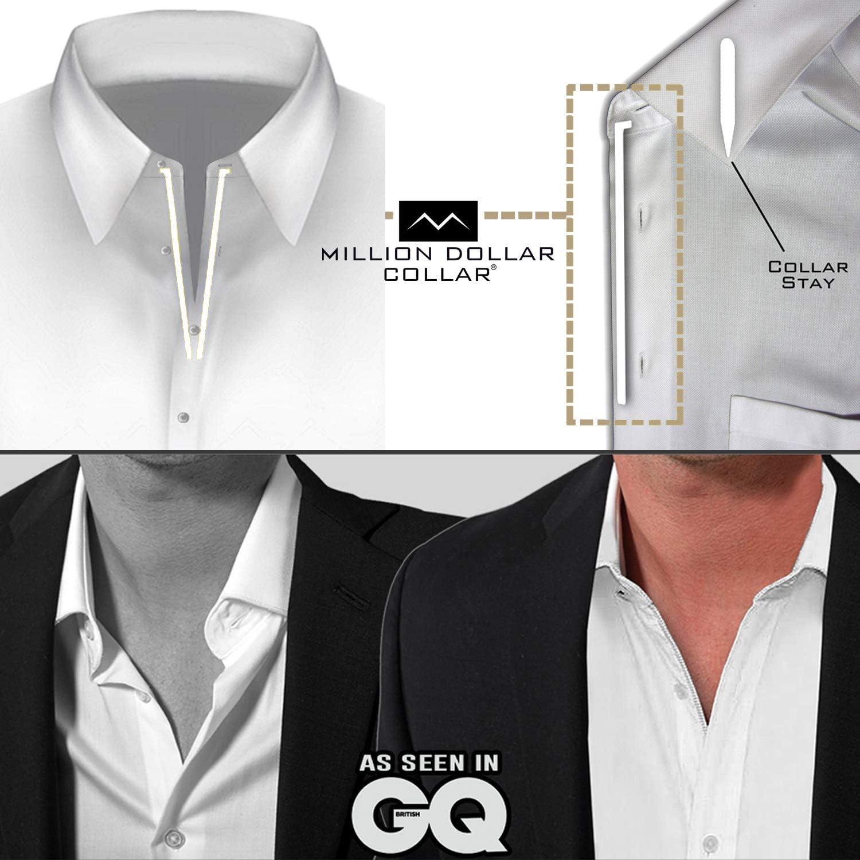 Metal Collar Stays Million Dollar Collar 10 SETS