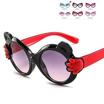 Y-WEIFENG Gafas de Sol para niños pequeños, Gafas de Sol ...
