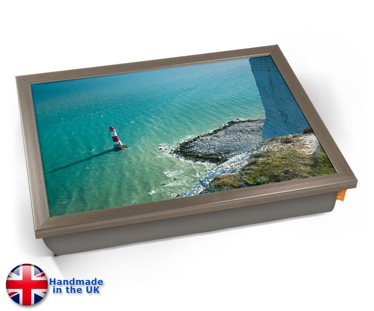 KICO - Bandeja de cojín para Effect Faro de mar, Chrome Effect para Frame, 45cm (l) x 35cm (w) x 11cm (d) 641b42