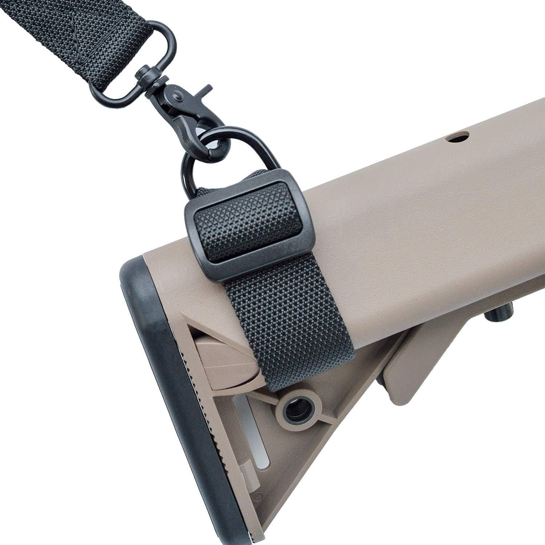 Emerson 2 pistola Sling Point Battle QD Imbottito Cinghia Regolabile Bungee sgancio rapido