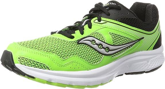 Saucony Cohesion 10, Zapatillas de Running para Hombre, Verde (Slime/Black), 46.5 EU: Amazon.es: Zapatos y complementos