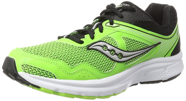 Saucony Cohesion 10, Zapatillas de Running para Hombre 43 EU|Verde (Slime/Black)