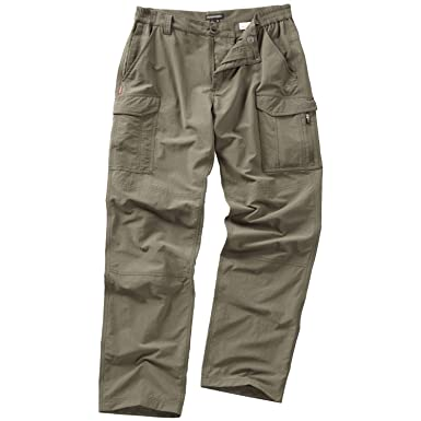 Craghoppers Mens NosiLife Insect Repellent Cargo Pants/Trousers (30R) ( Pebble)