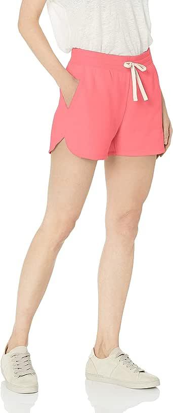 Pantal/ón corto chino con tiro de 8,89 cm para mujer Essentials