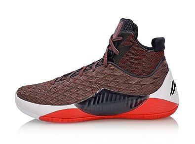 LI-NING Shadow Walker Men Professional Competition Lining Basketball Shoes  Red ABAN019 US 9 19e5803de