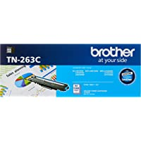 Brother TN-263C ASA Original Toner Cartridge Compatible with DCN/HL/MFC, 1300 Pages, Cyan