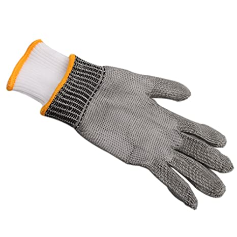 Amazon.com: OFTEN - Guantes de malla de metal para ...