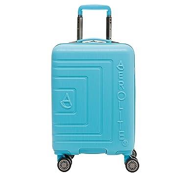 0a61dfb99 Aerolite ABS Ligero Shell Duro 8 Rueda continuar Maleta de Equipaje de  Cabina de Mano Carretilla de Viaje, Azul Brillante: Amazon.es: Equipaje