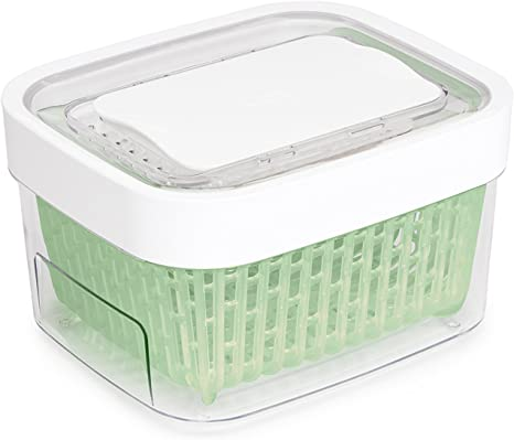 Amazon Com Oxo Good Grips Greensaver Produce Keeper 1 6 Qt Kitchen Dining