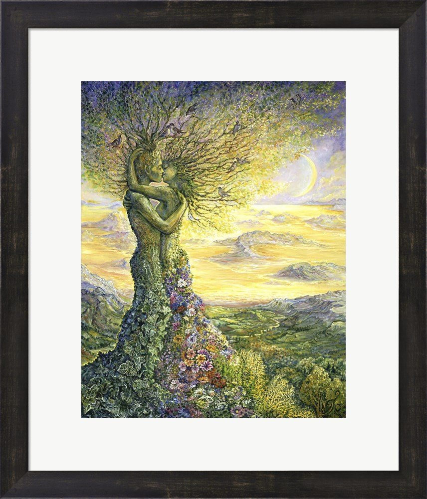 Amazon.com: Great Art Now Nature\'s Embrace by Josephine Wall Art ...