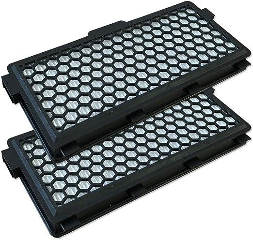 Set - 2 Filtro HEPA para Aspiradoras Miele Best PARKETT Turbo&H.E.P.A. S 4282, S5 Allergy Control S 5381, Onyx S 6270, S8 MEDICAIR S 8330: Amazon.es: Hogar