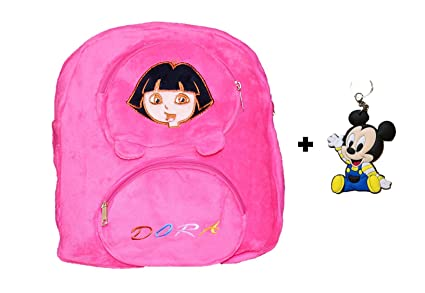 Image Unavailable. Image not available for. Colour  ToyJoy idora Explorer 3  Compartment Plush Soft Bag Backpack Cartoon Birthday for Kids ... 54dcc58719341