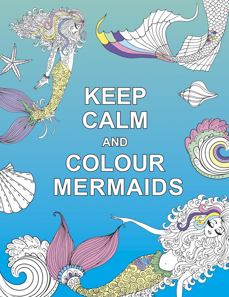 Top 8 Best Adult and Childrens Mermaid Colouring Books 3