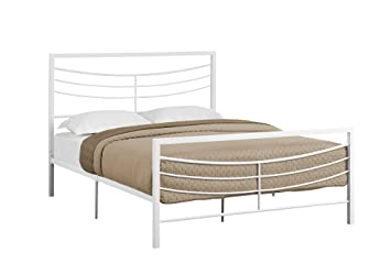 1fba604adcb82 Amazon.com  Candace   Basil Harrison Platform Queen Bed Frame ...