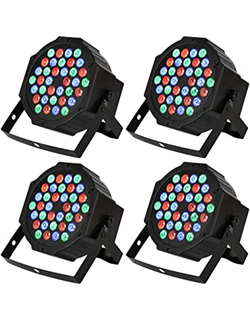 DJ Par Lights with 36 LEDs, RGB Changeable Color Multiple Lighting Modes Stage Lighting effects