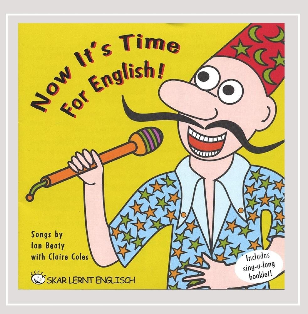CD : Ian Beaty - Now It's Time For English (CD)