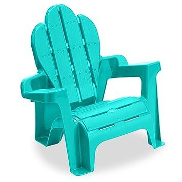 Superieur American Plastic Toys Adirondack Chair (Aqua)