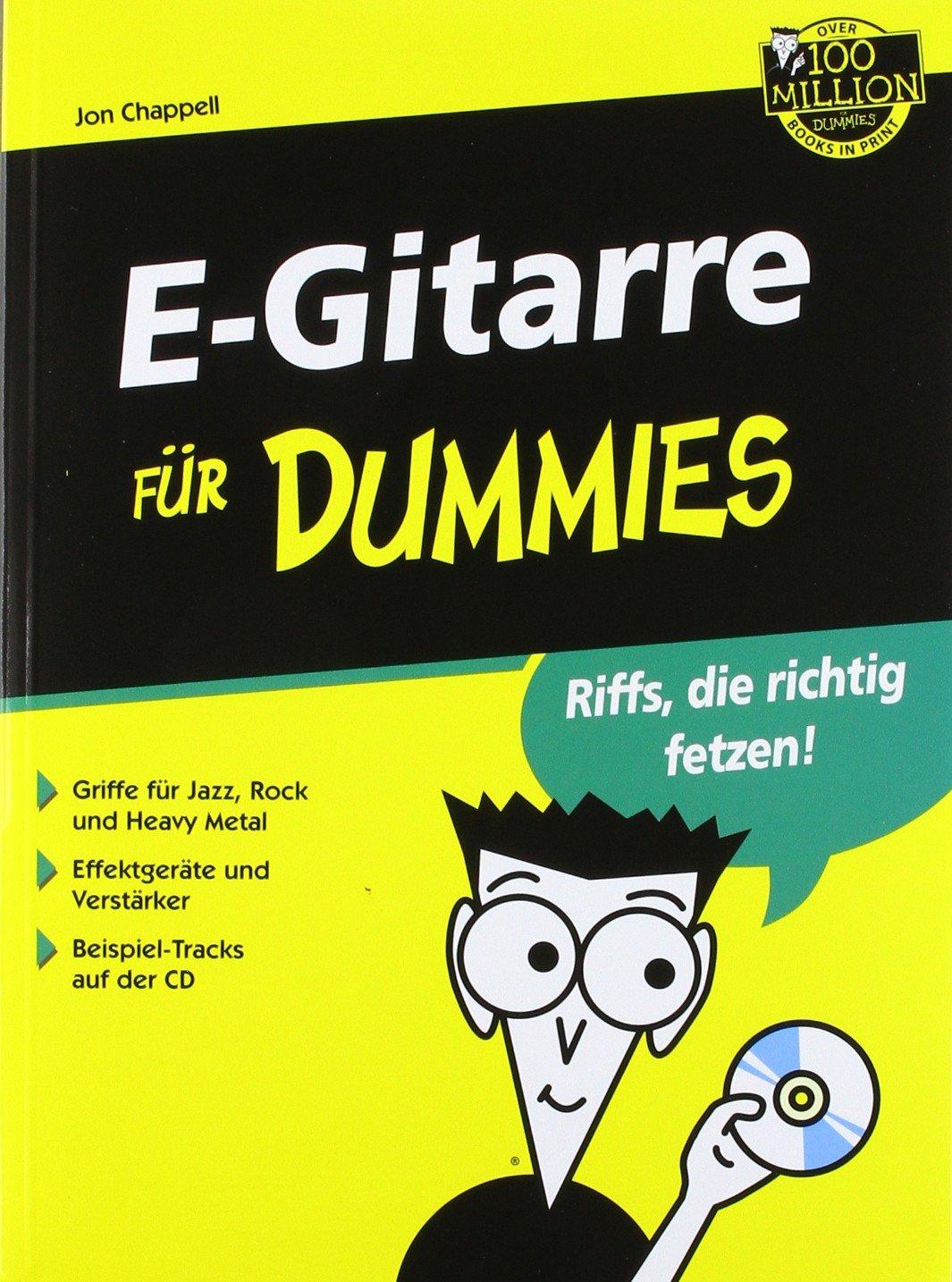 E-Gitarre für Dummies: Amazon.de: Jon Chappell: Bücher