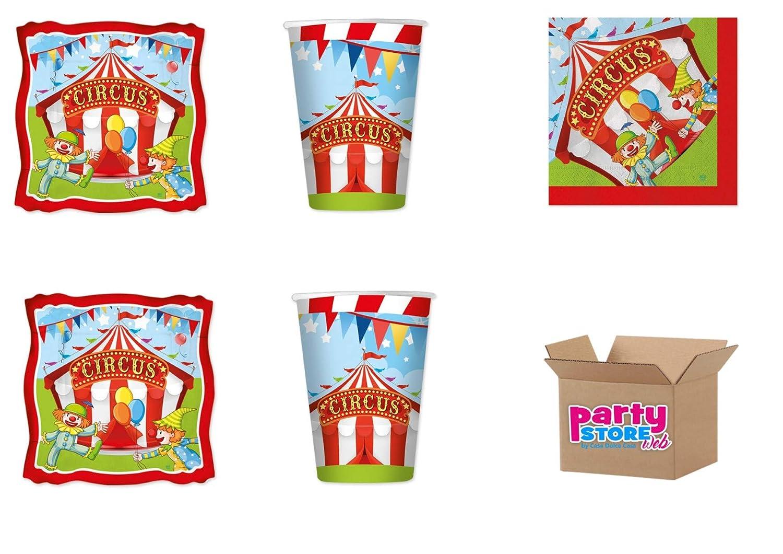 Circus Party - Juego de Papel de Mesa para Fiestas temáticas ...