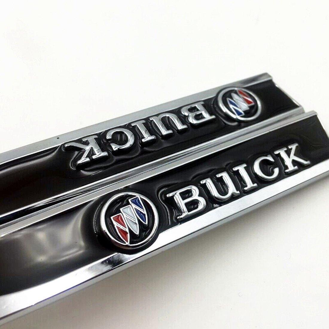 Amazon Deselen Ebs Bt09 Buick Emblem Chrome Motion Blade Side