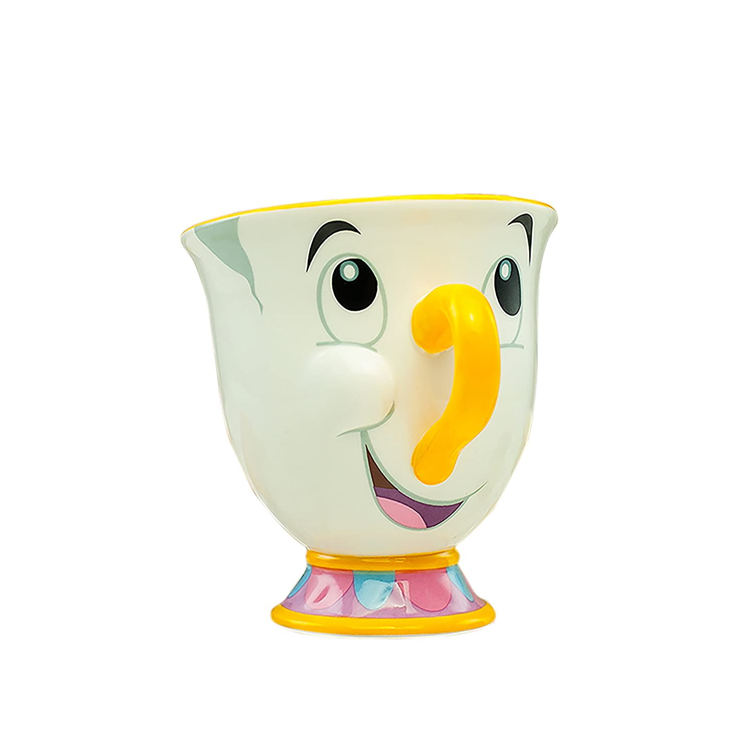 Officially Licensed Disney Beauty and The Beast Chip Character Ceramic Mug PaladoneGIFPAL319