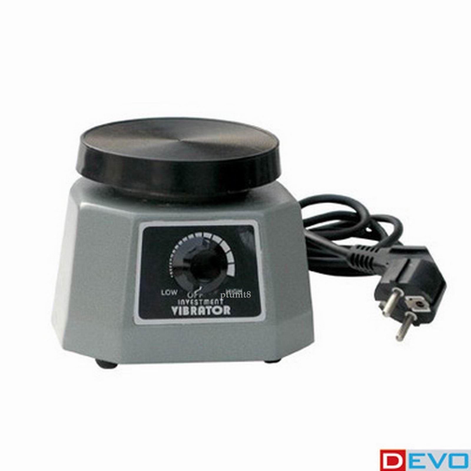 New Vibrator 4'' Round Dental Lab Dentist 110V