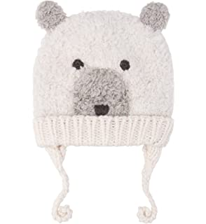 964ec48d057 Sumolux Baby Toddler Earflap Beanies Hat Knitted Animal Ears Lined Cap  Winter
