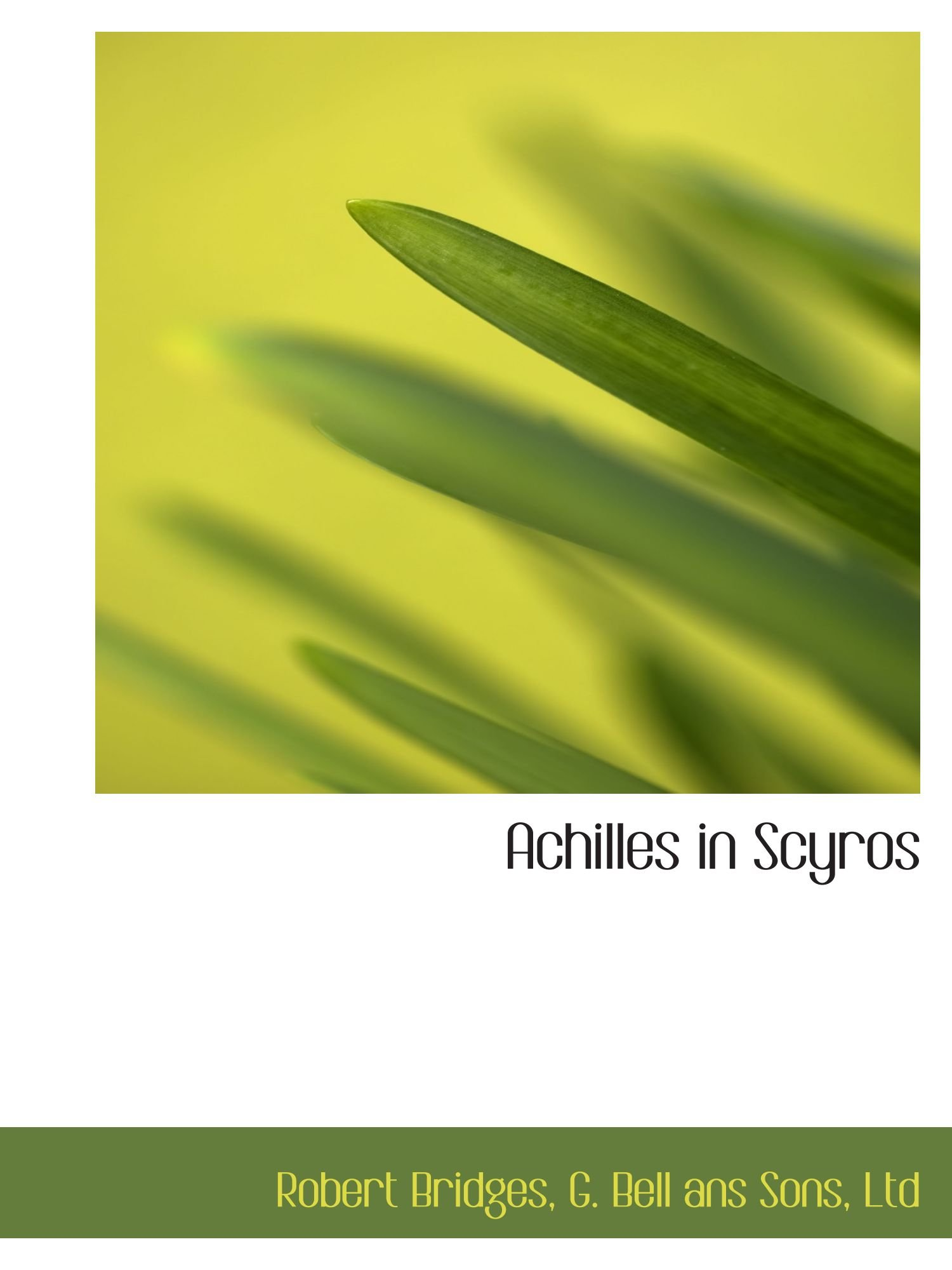 Achilles in Scyros PDF