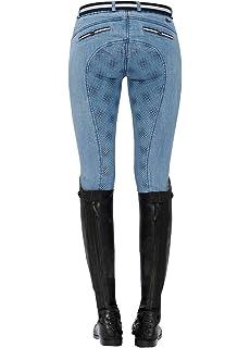 Spooks Lucy Full Grip Jeans Denim HW 18//19 Voll Grip Reithose