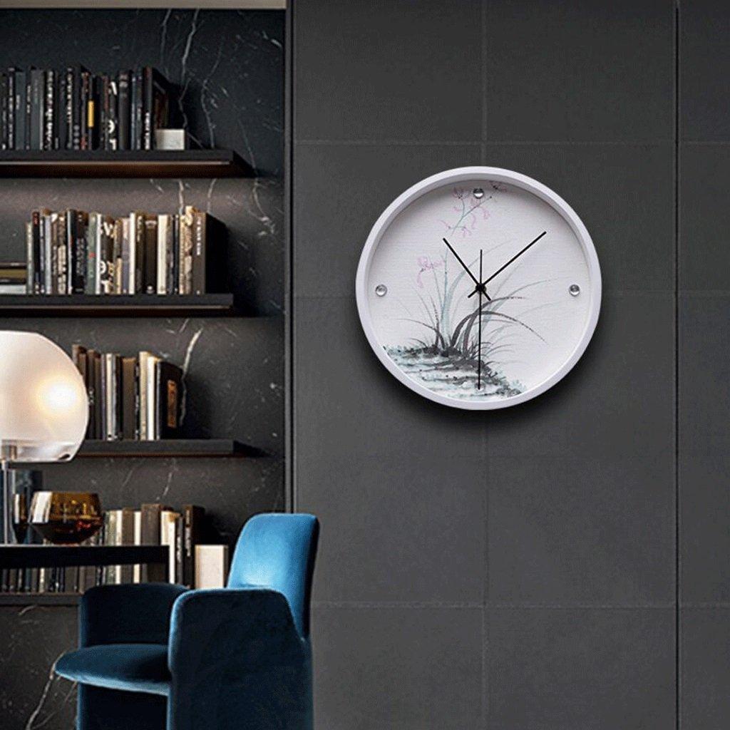 GAOLILI アート吊りテーブルパーソナライズクリエイティブ時計円形3次元救済ウォールクロック ( 色 : D ) B07C3YSHZG D D