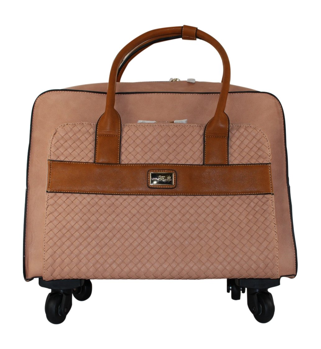 Simply Noelle Company Retreat Travel Roller Bag (Apricot)