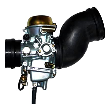 amazon com: zoom zoom parts yamaha grizzly yfm 600 carburetor + 2 free  intake manifold boot carb 1998 1999 2000 2001: automotive