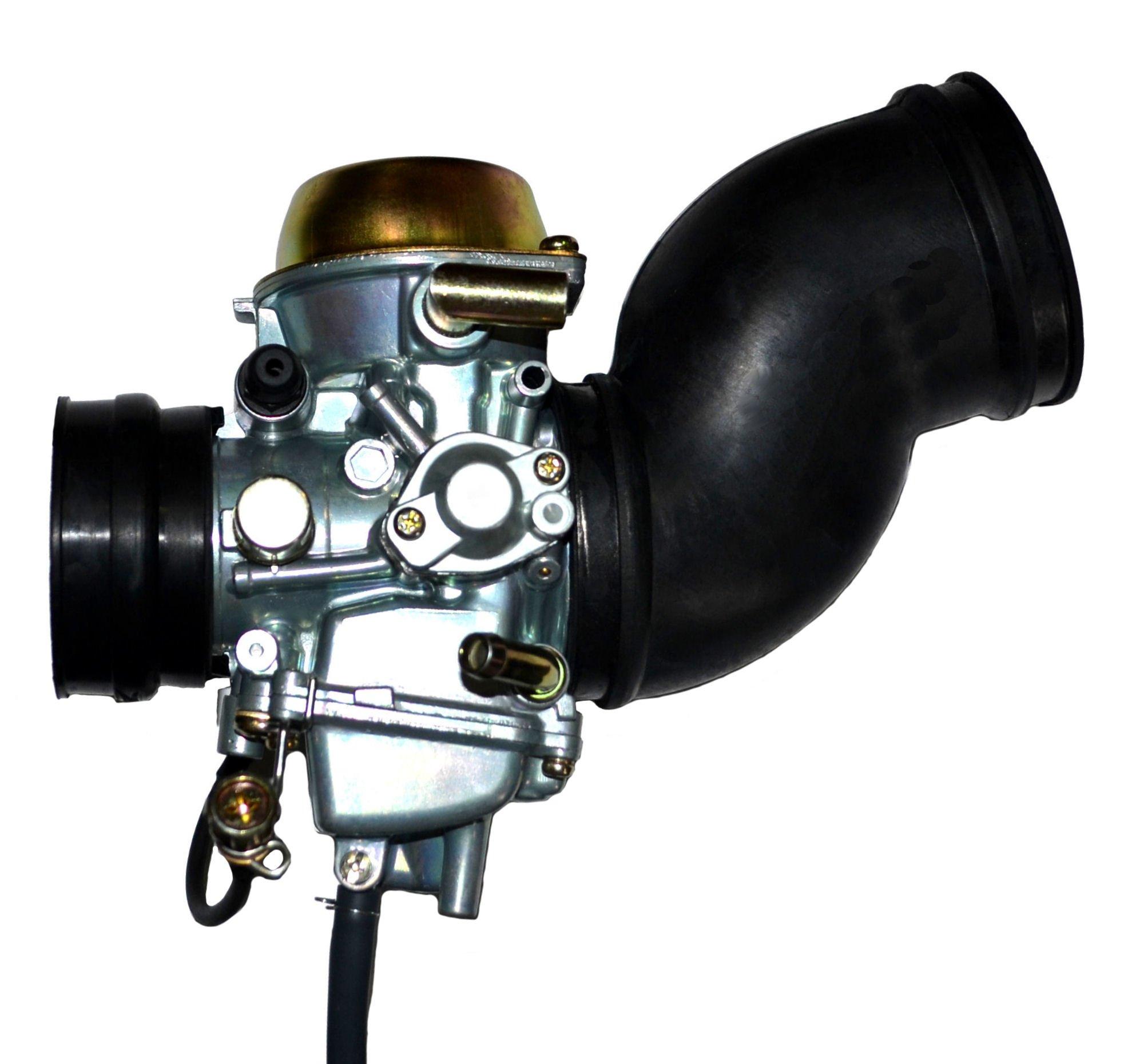ZOOM ZOOM PARTS Yamaha Grizzly YFM 600 Carburetor + 2 FREE Intake Manifold Boot Carb 1998 1999 2000 2001