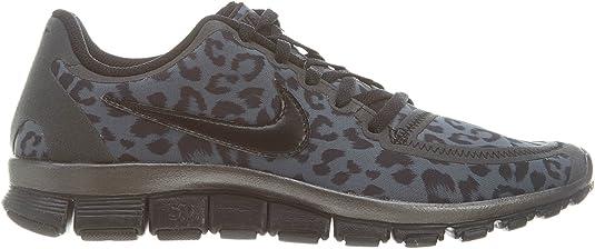 Entretener Sentirse mal Perfecto  Amazon.com | Nike WMNS Free 5.0 V4 Leopard - Dark Grey (511281-013) Womens  Shoes | Road Running
