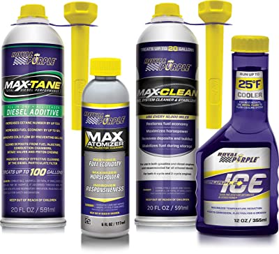 Royal Purple Max-Clean Fuel System Cleaner & Stabilizer 11722
