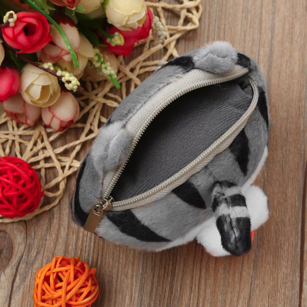 Amazon.com: Cute Cat Butt Tail Plush Purse Mini Bag,Outsta Coin Purse Bag Wallet Pouch Zipper Fanny Classic (Multicolor): Musical Instruments
