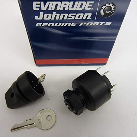 amazon com: oem evinrude johnson brp ignition switch 77 series (1977-1995)  - 508180: automotive