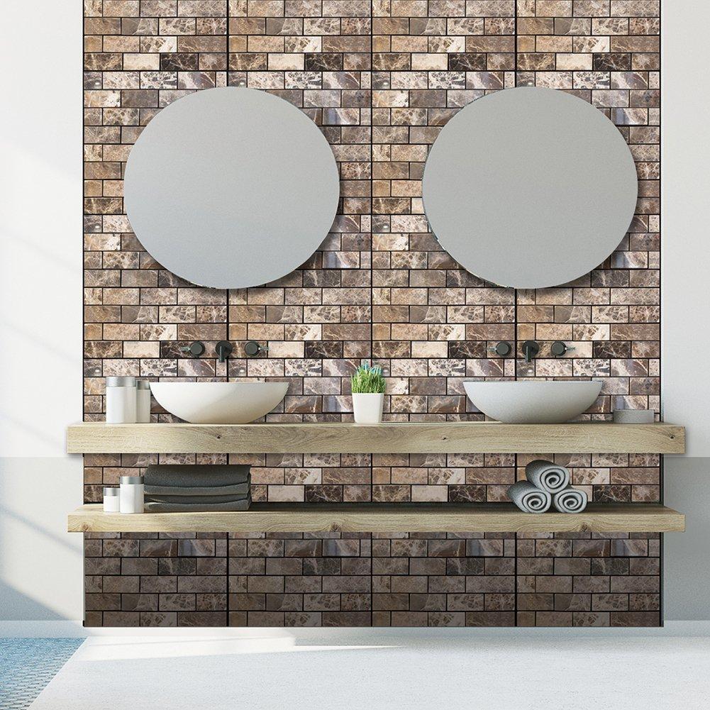 3D Wall Stickers Adesive per piastrelle per cucina//bagno//salotti