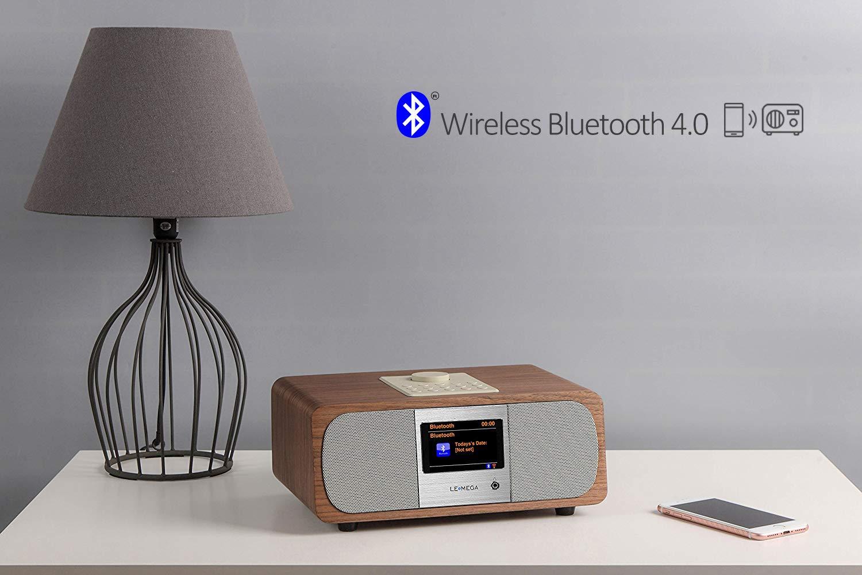 Mango Tree M3/A Digital Dab//FM//WiFi Internet Radio Smart con Spotify Connect y Bluetooth Streaming Blanco
