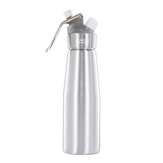 4 opinioni per Easy Make KB5375- Sifone 500 ml modello deluxe in alluminio