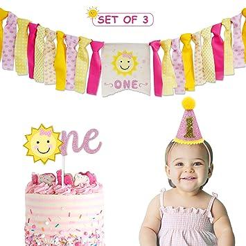 Amazon.com: Vansolinne - Decoración de fiesta de cumpleaños ...
