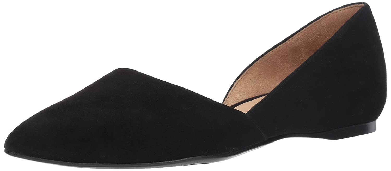 Naturalizer Women's Samantha Pointed Toe Flat B01I4GTC28 11 C/D US|Black