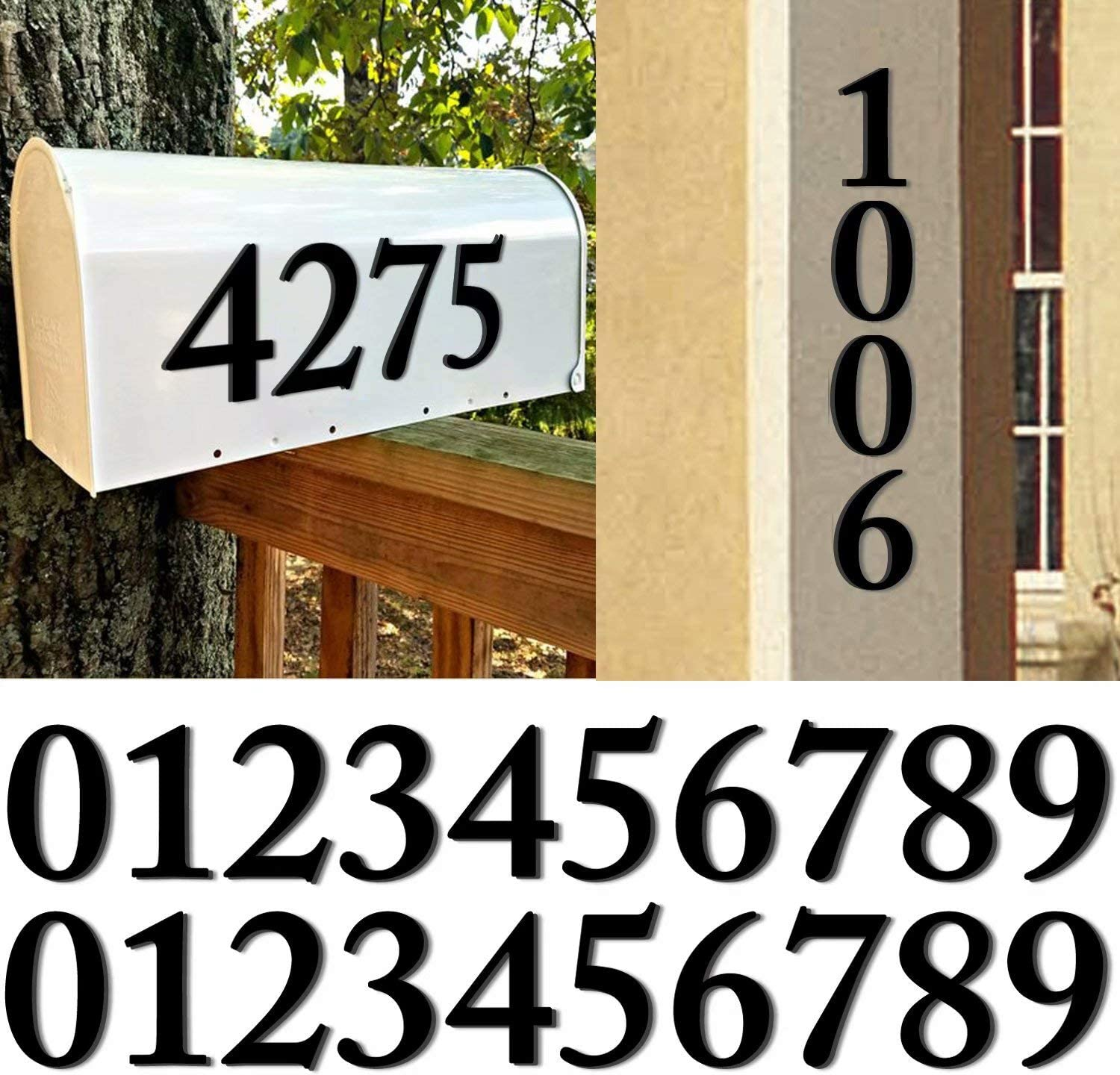 20 Pack House Address Numbers 4