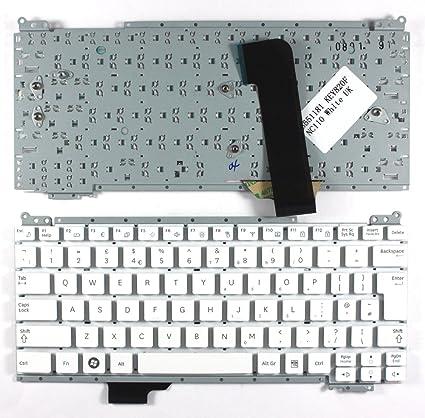 Keyboards4Laptops Samsung NC110 A07 Blanco Layout Reino Unido Teclado de Repuesto para Ordenador portátil
