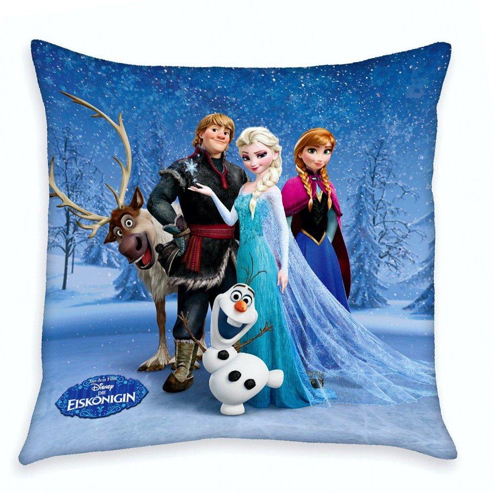 Disney Eiskönigin Frozen - Kinder Kissen Dekokissen Freunde 40x40cm Herding