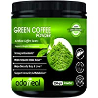 Adorreal 100% Arabica Green Coffee Bean Powder for Weight Loss- 250gm