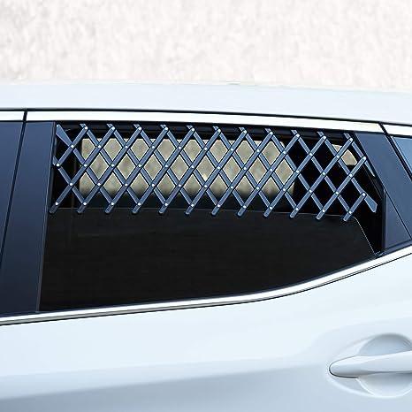 universelle Fensterbel/üftung f/ür Autofenster und Autos sicherer Schutz f/ür Haustiere erweiterbar Reisen ROKF Haustier-Auto-Fenster-Hundegitter f/ür Autofenster Kinder
