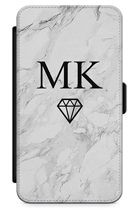 2e0c504cbb Case Warehouse iPhone 6 Plus Case, Personalised Custom Name White Marble  Diamond Phone Case Premium